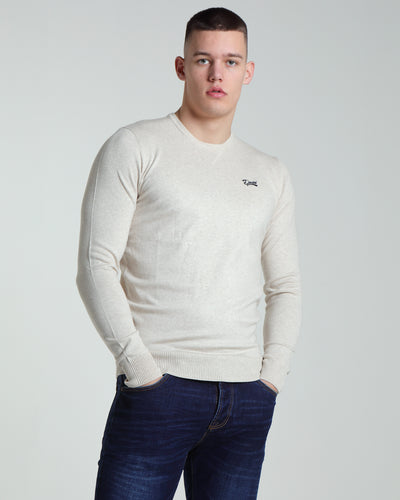 Nolan Round Neck Almond