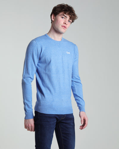 Nolan Round Neck Nautical Blue