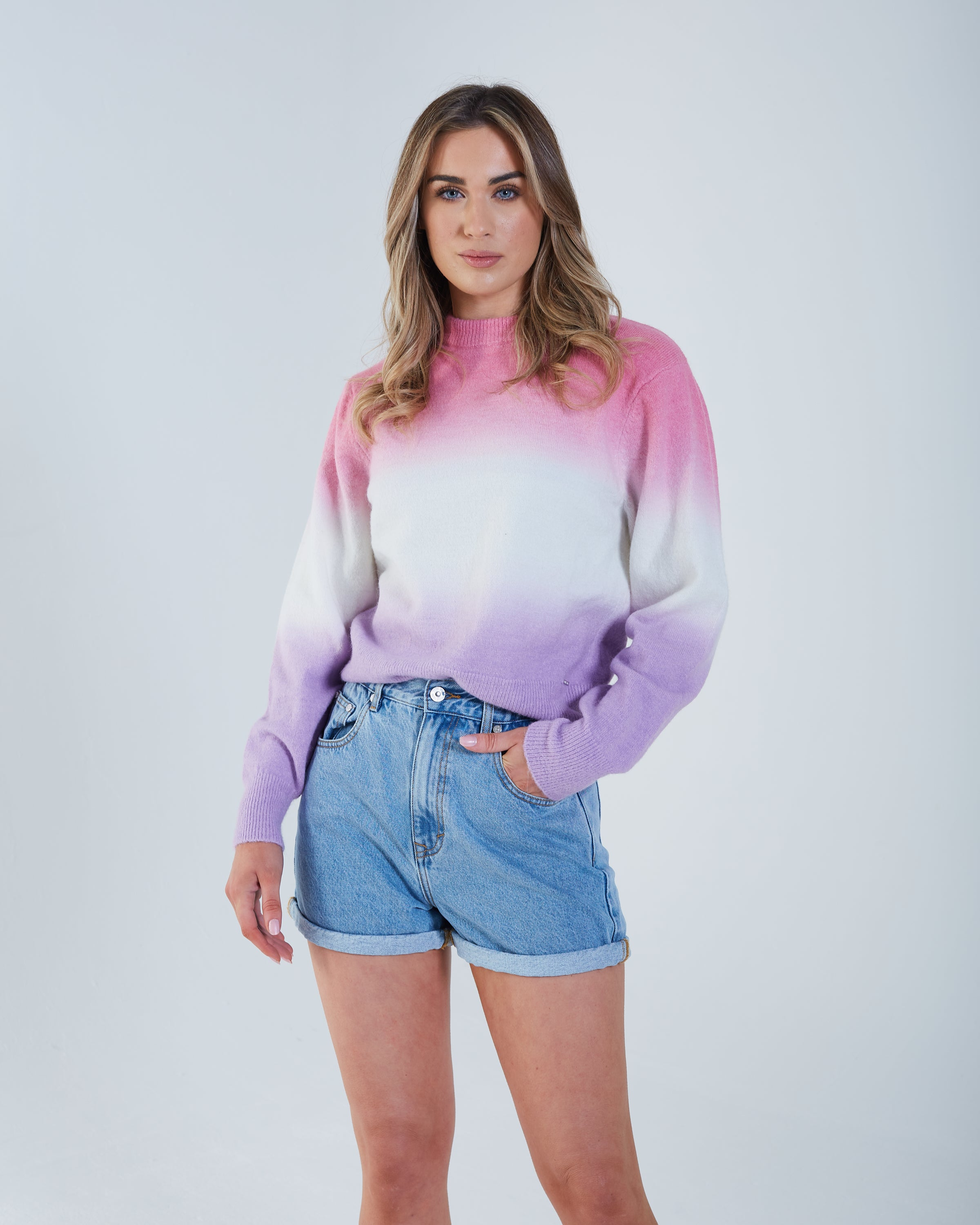 Romilly Knit Pink Sunset