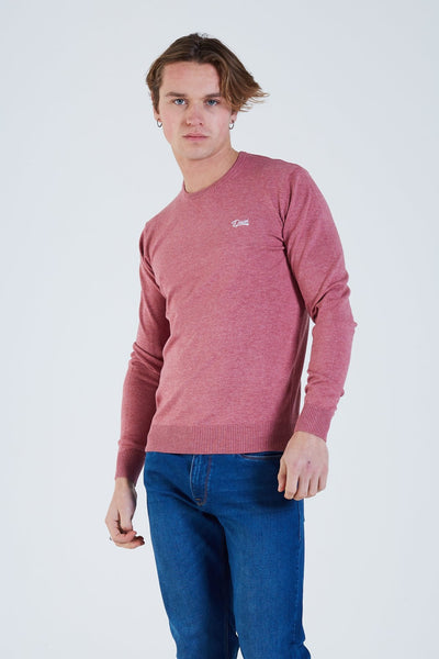Dale Round Neck Berry Mel