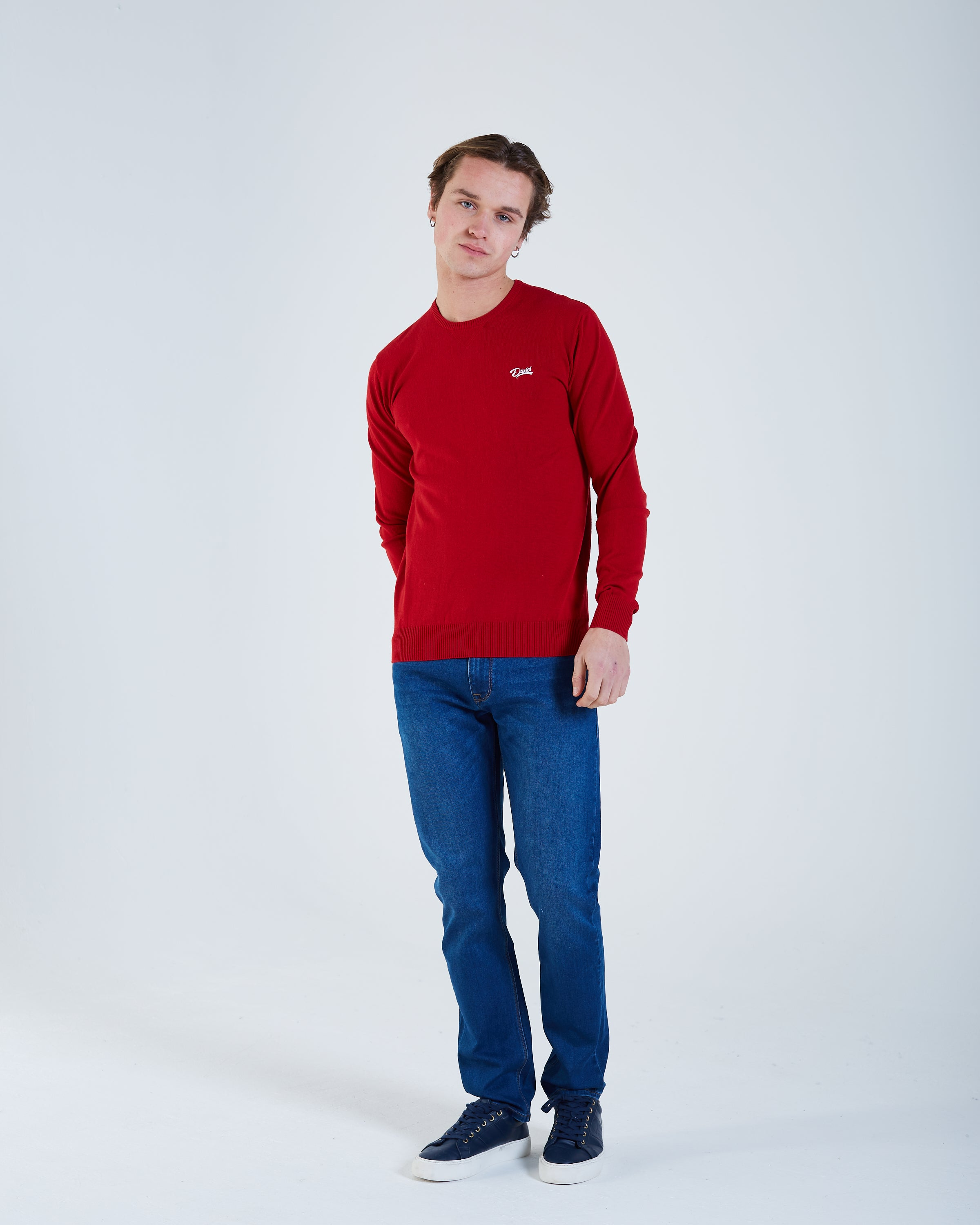 Dale Round Neck High Risk Red Mel