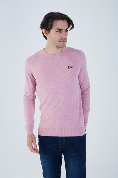 Dale Round Neck Cameo Pink