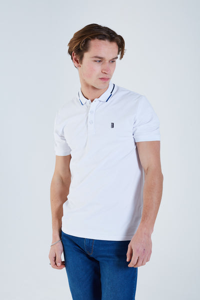 Ryker Polo Optic White