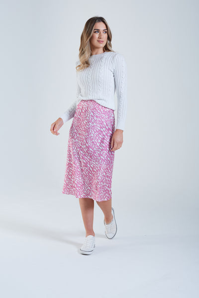 Ottoline Skirt Pink Sunset