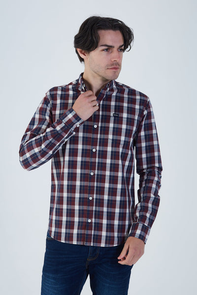 Buckley Check Shirt Port Royale
