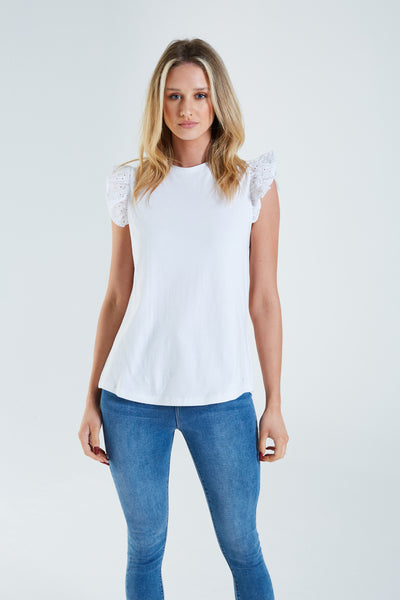 Finlay T-Shirt Optic White