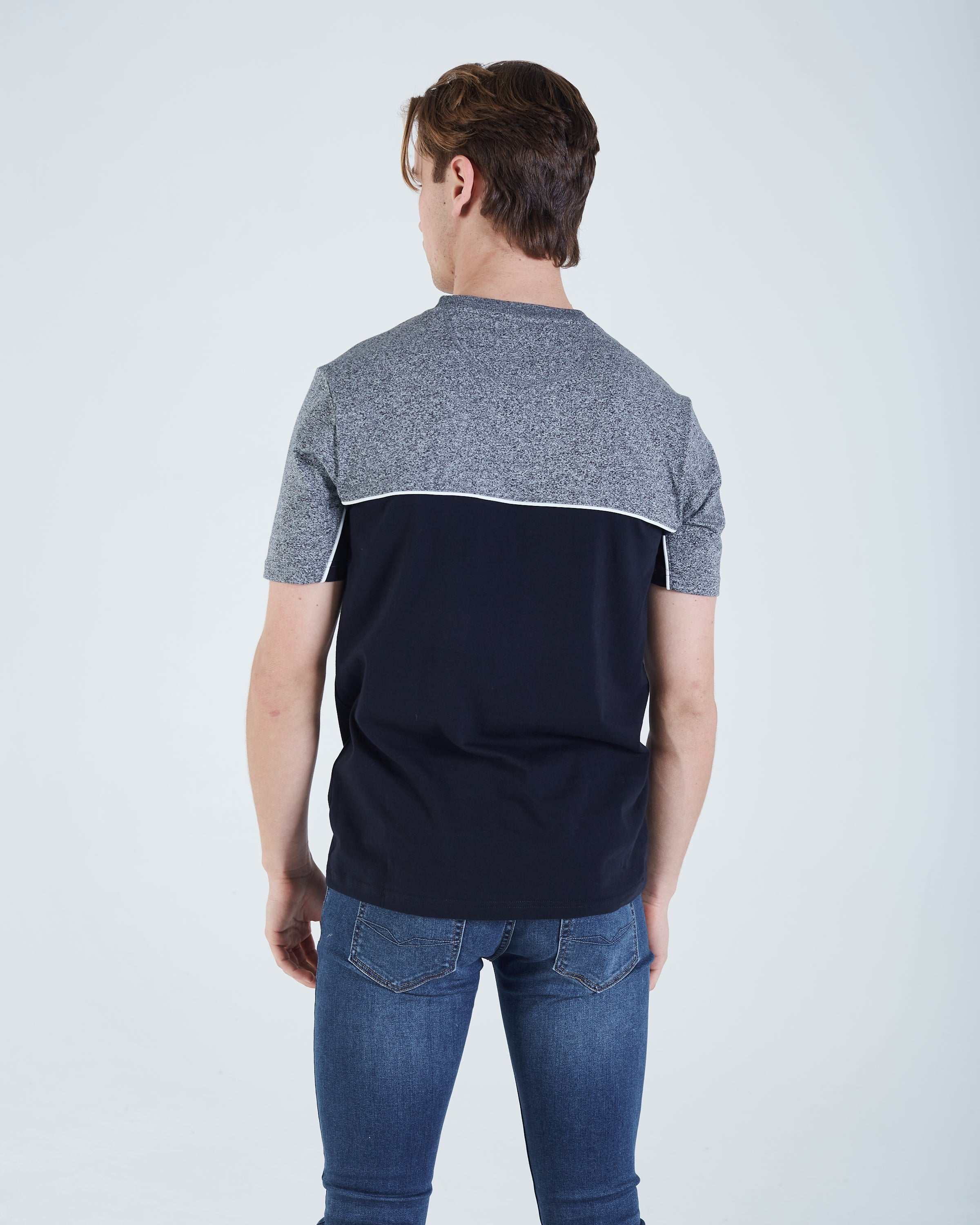 Guy Tee Grey Speckle