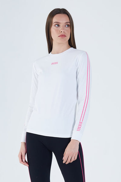 Bailey L/S Top Optic White