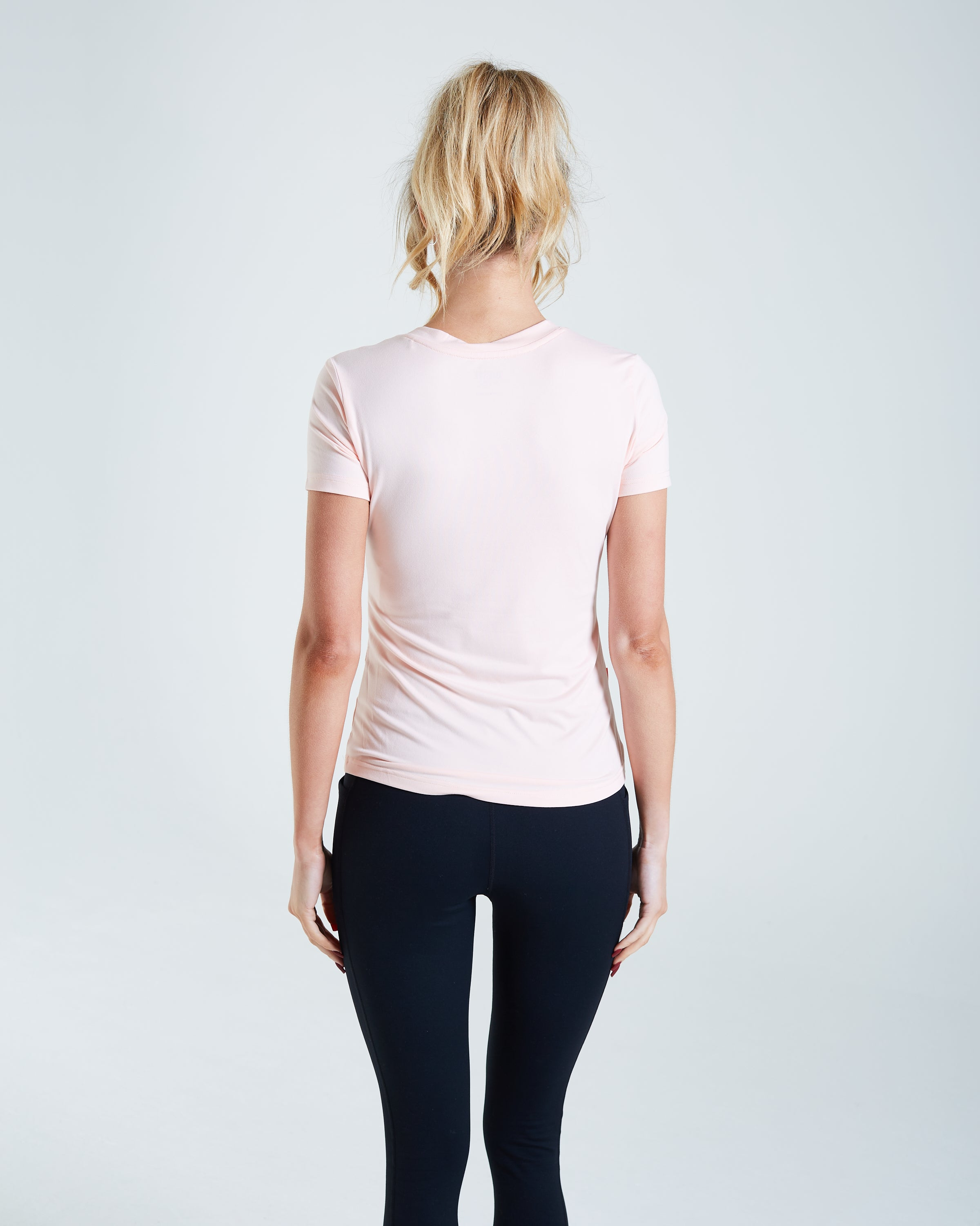 Paloma Tee Washed Coral