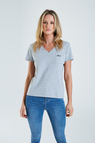 Orla T-Shirt Pebble