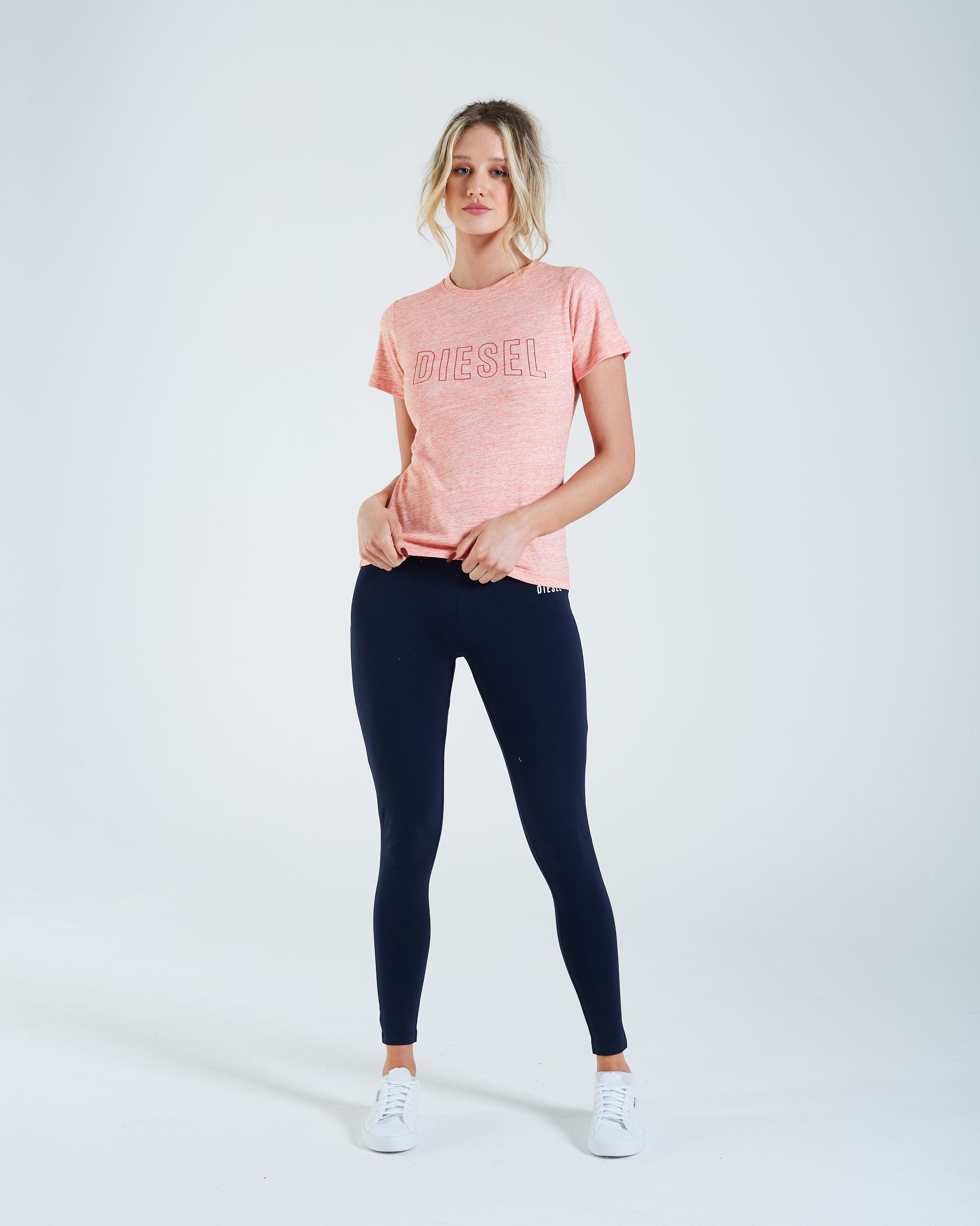 Kaitlynn T-Shirt Peach Dream Mel
