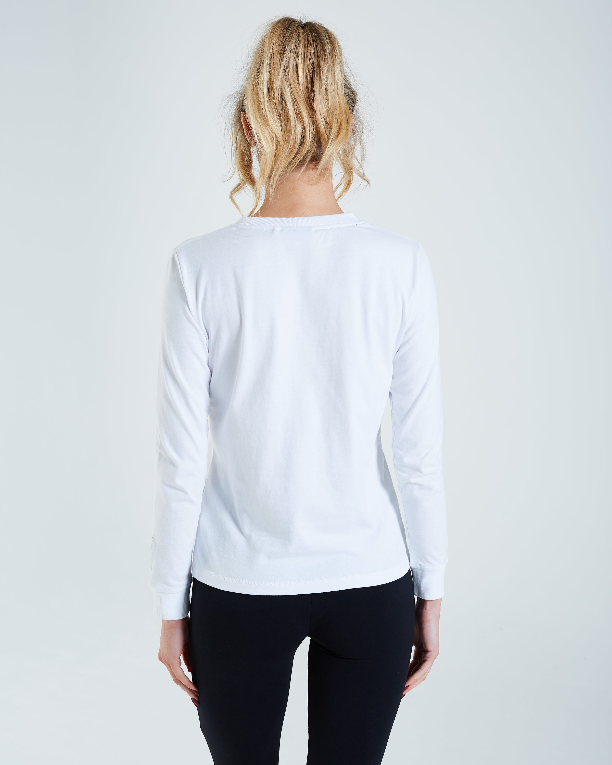 Ash L/S Top Optic White