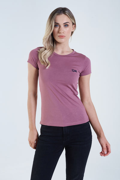 Cloda Basic T-Shirt Mauve