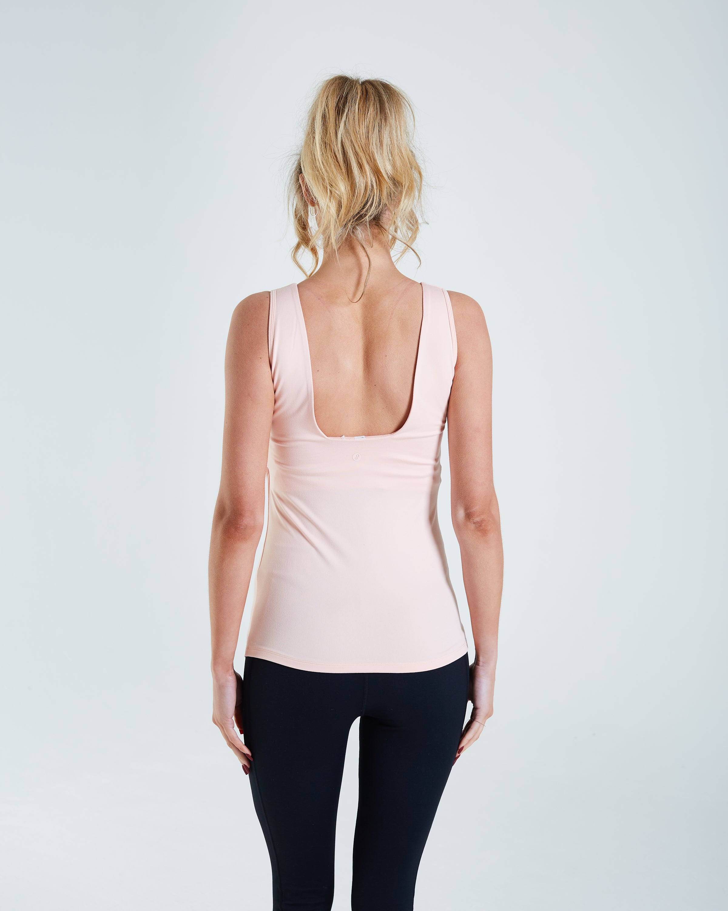 Gia Vest Top Washed Coral