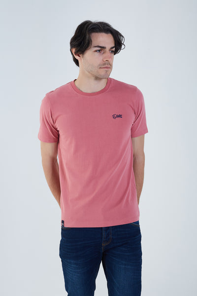 Basic Scott O Neck Tee Winterberry