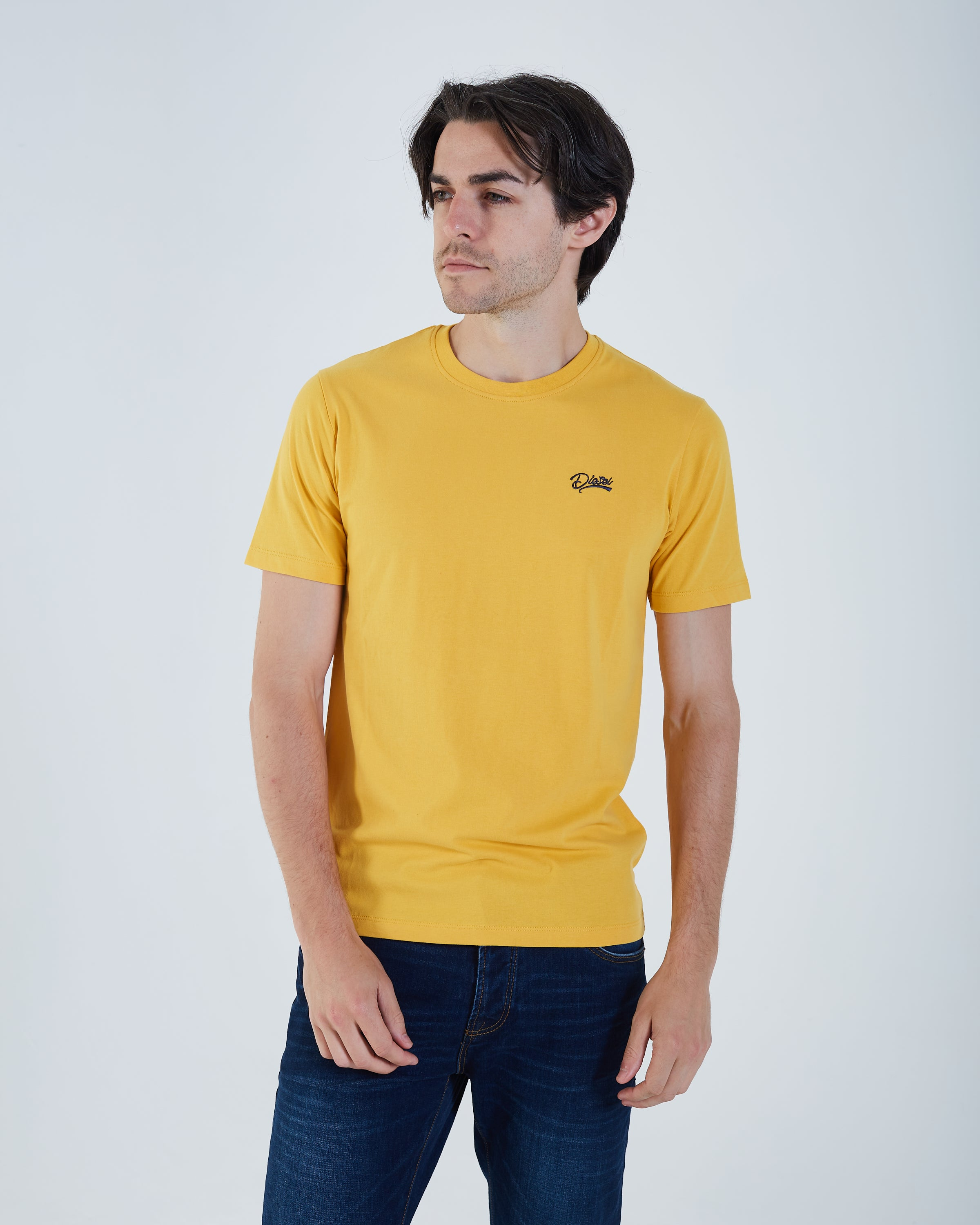 Basic Scott O Neck Mineral Yellow