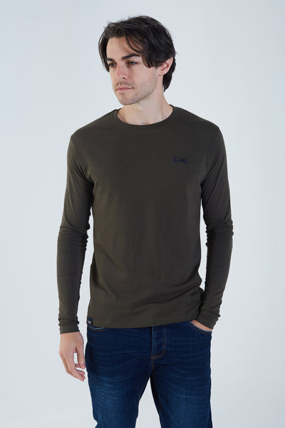 Basic Scott L/S Military Green