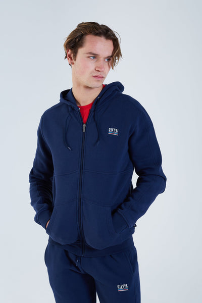 Troy Zipper Navy Iris