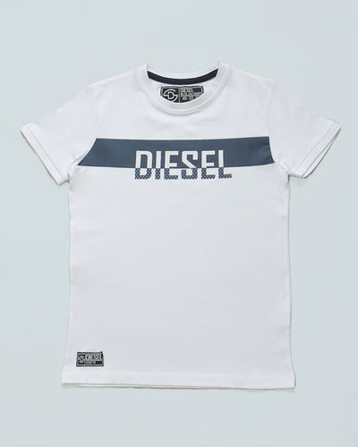 Dane Kids Tee White