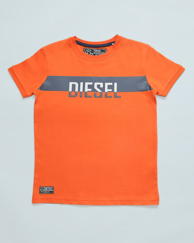 Dane Kids Tee Orange