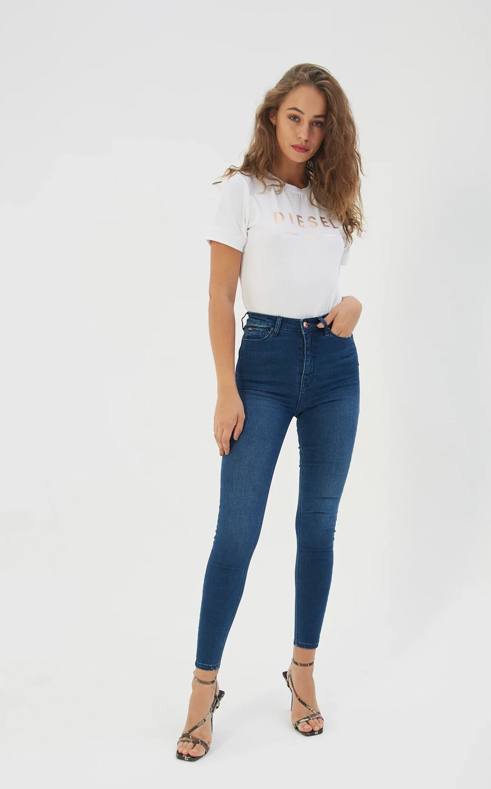Polly High Waist Skinny