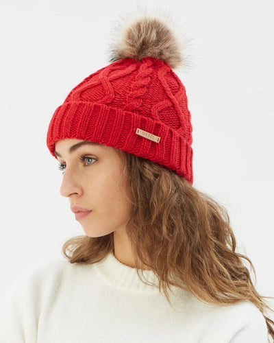 Evie Hat Red