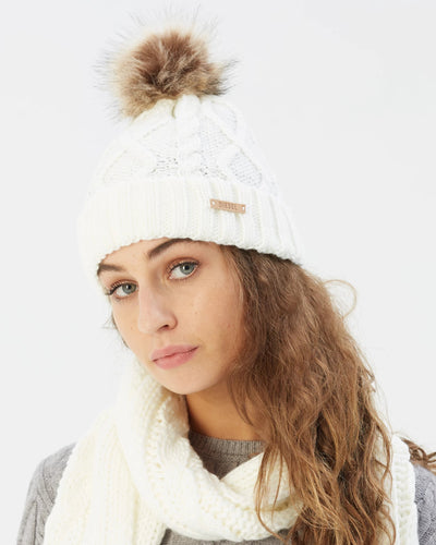 Evie Hat Ivory