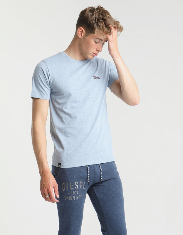 Basic Matt O Neck Tee KASHMIR BLUE