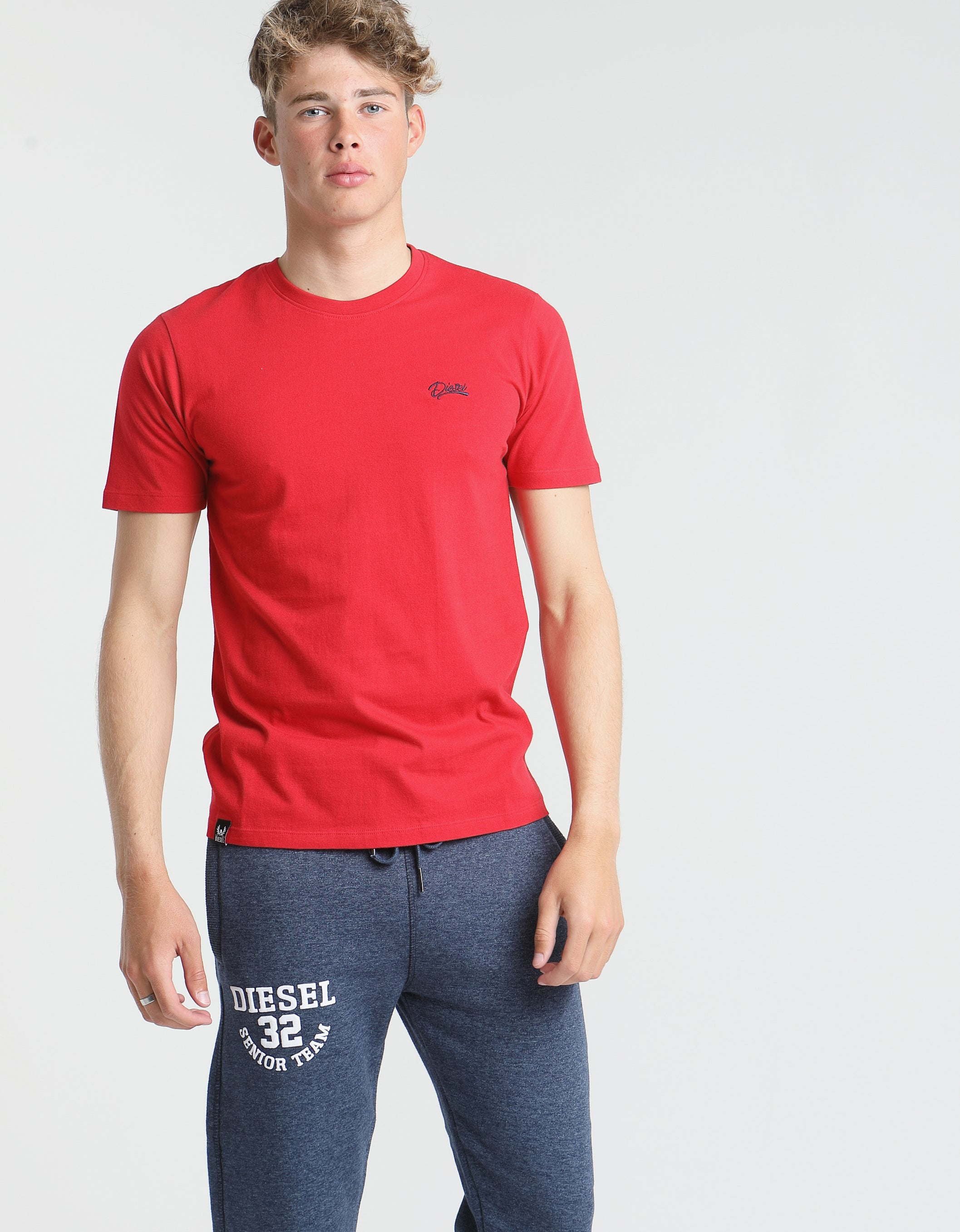 Basic Scott O Neck Tee JESTER RED