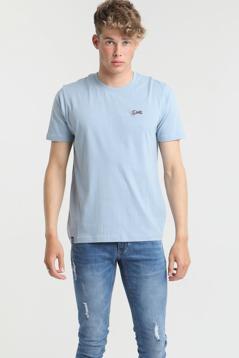 Basic Scott O Neck Tee KASHMIR BLUE