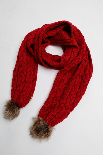 tia scarf scooter red