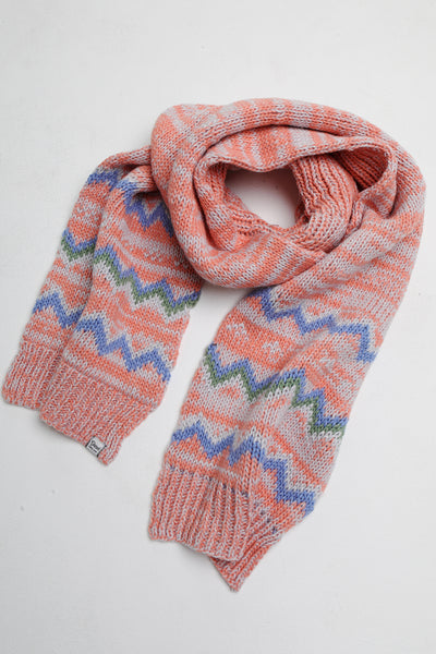 allie scarf dusty coral