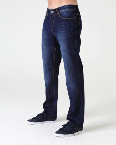 Rudy Straight Washed Indigo