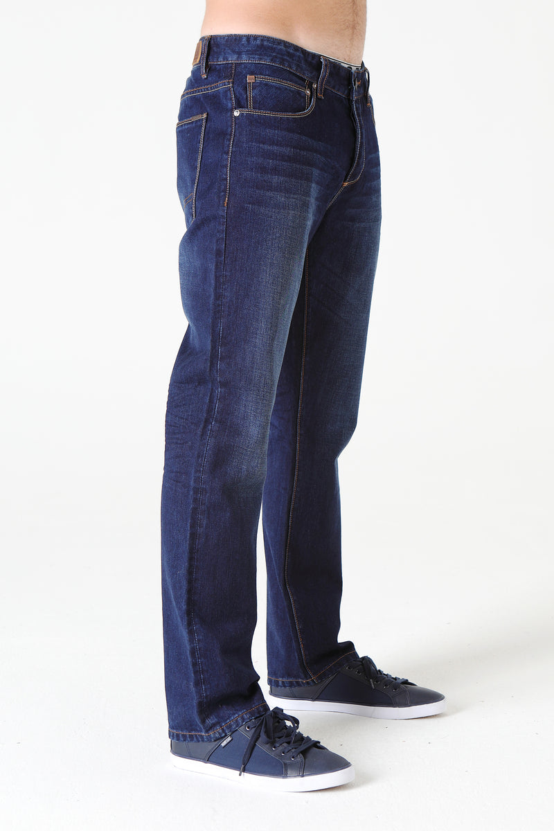 Rudy straight relaxed fit in WASHED INDIGO