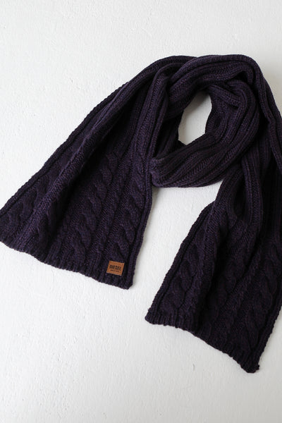 Bruce Scarf Black Cherry