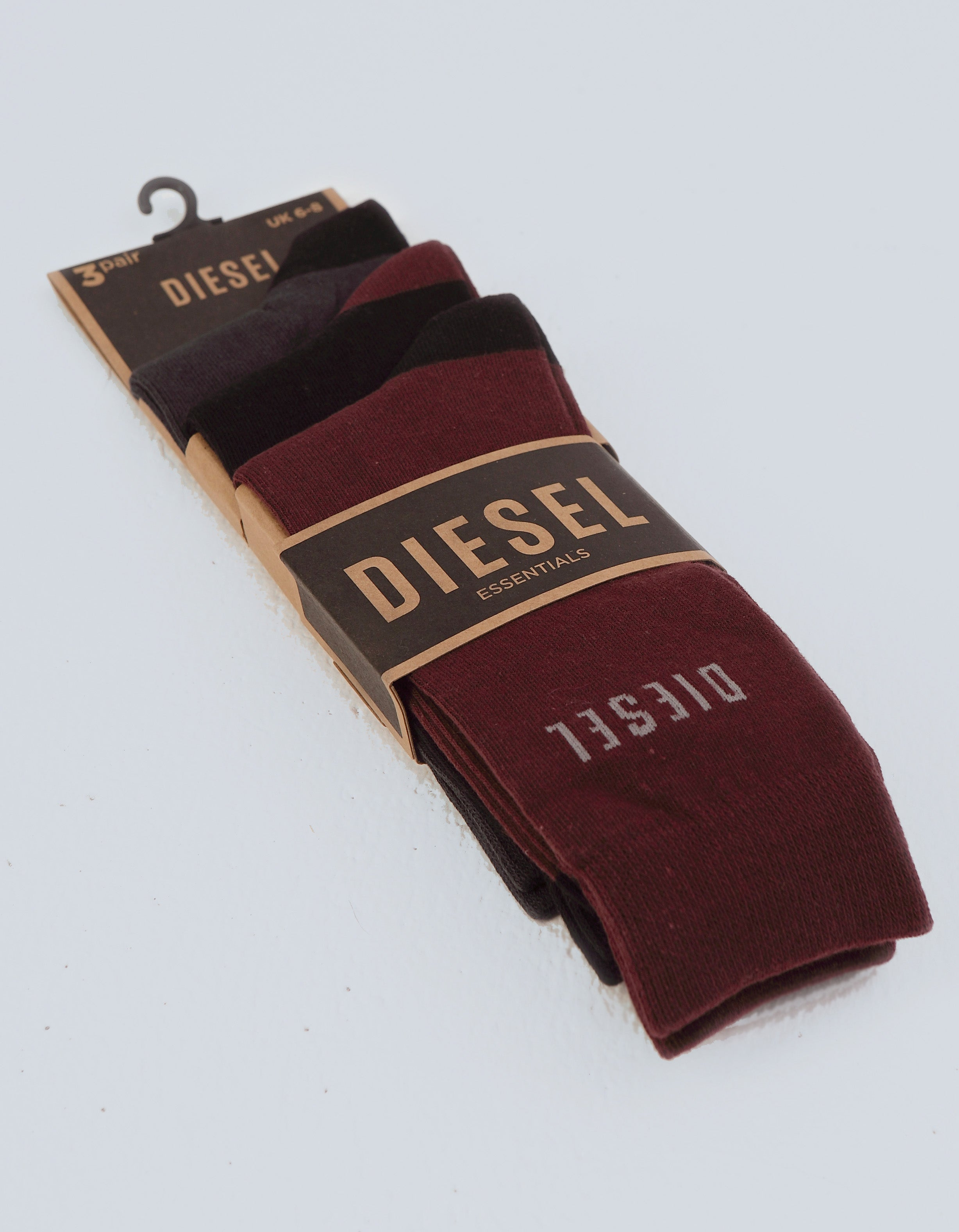 Louis 3 Pack Socks Port