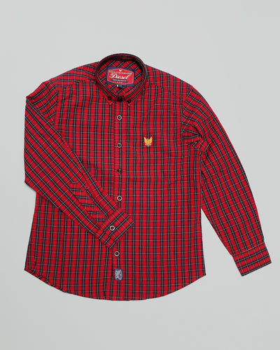Boden Check shirt Red