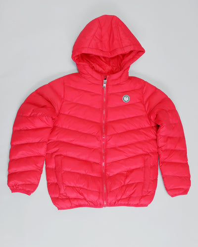 Spencer Puffa Jacket Red
