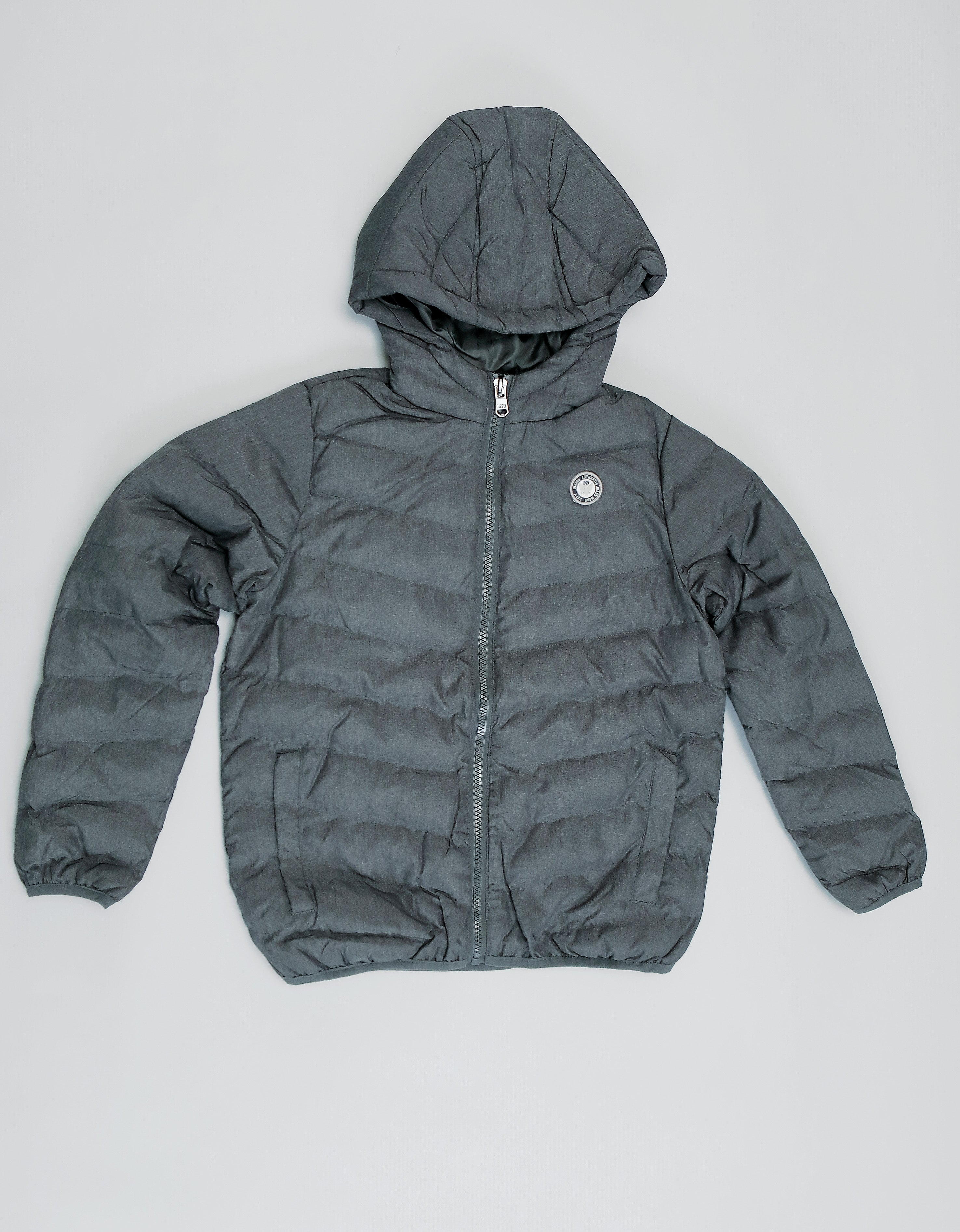 Spencer Puffa Jacket Grey