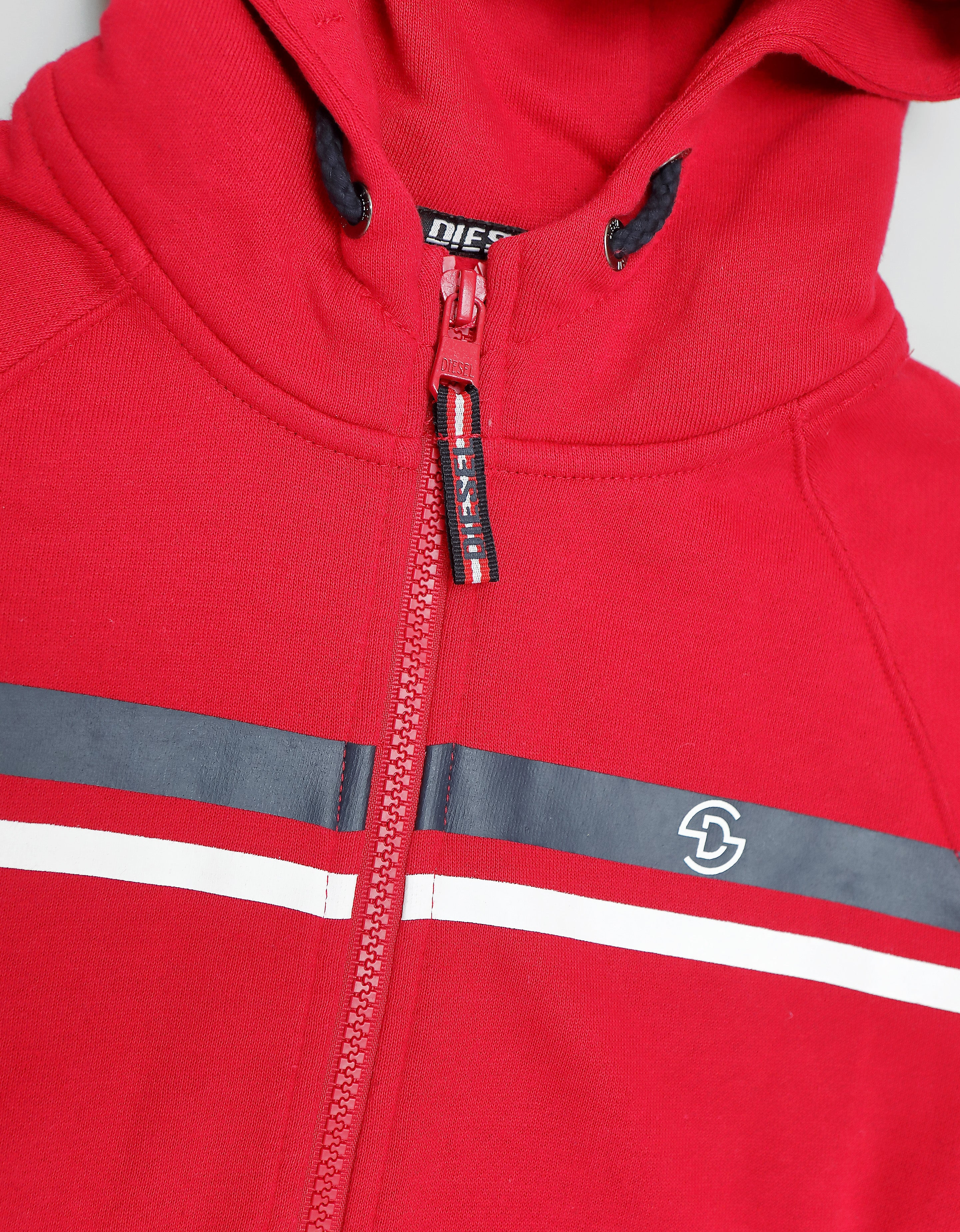 Kemp Zipper Red