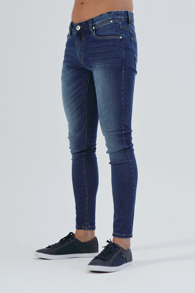 Saxon Skinny Bright Blue