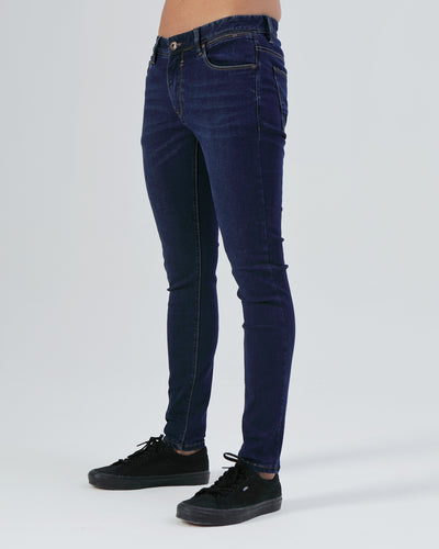 Saxon Skinny Denim Blue
