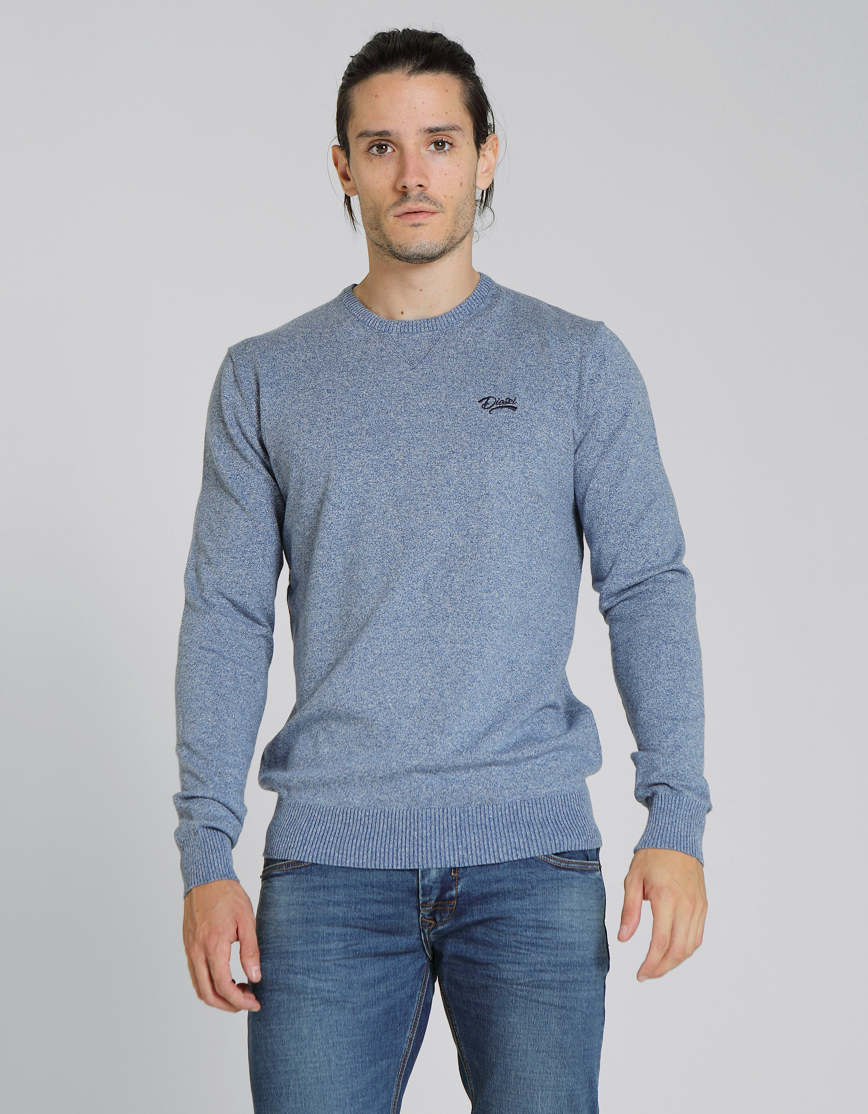 Dale Round Neck Blue
