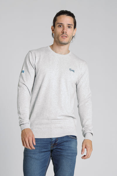 Dale Round Neck Pebble