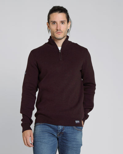 Jason Half Zip Port