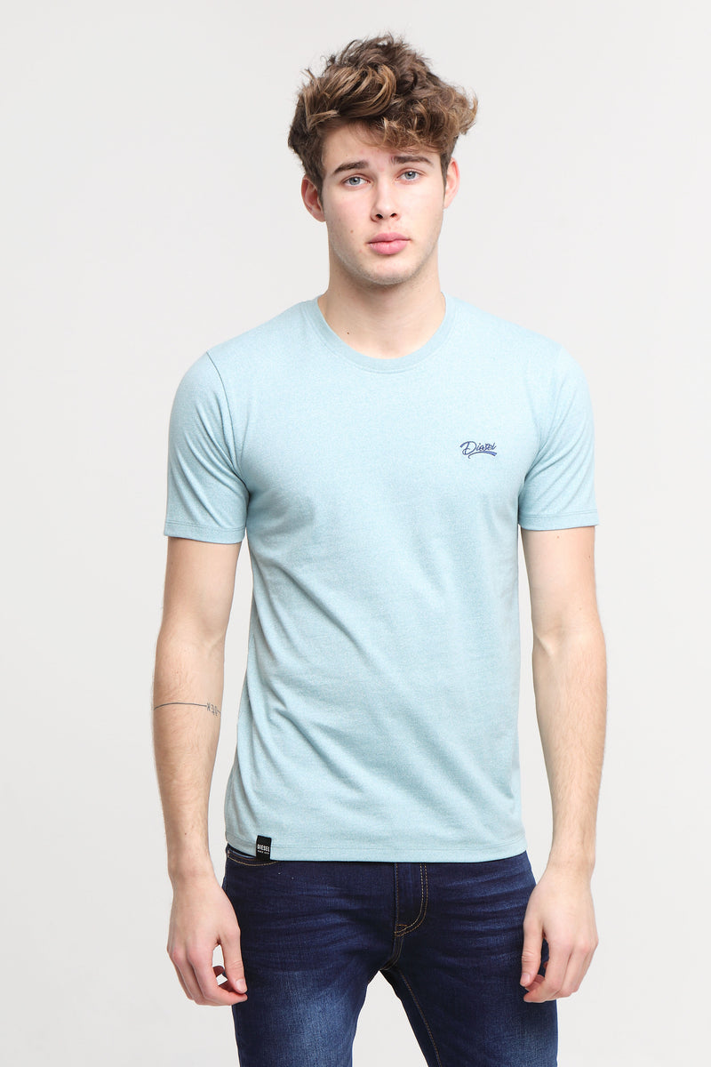 Basic Matt O Neck Tee Aegean Sea