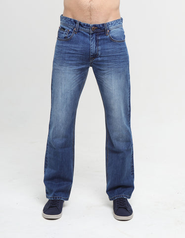 WALKER HUDSON relaxed bootcut LIGHT BLUE