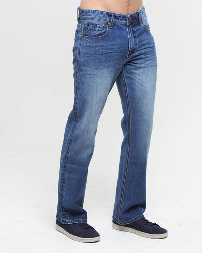 Walker Relaxed Bootcut Light Blue