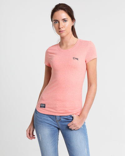 Clodeen Basic Tee Burnt Coral