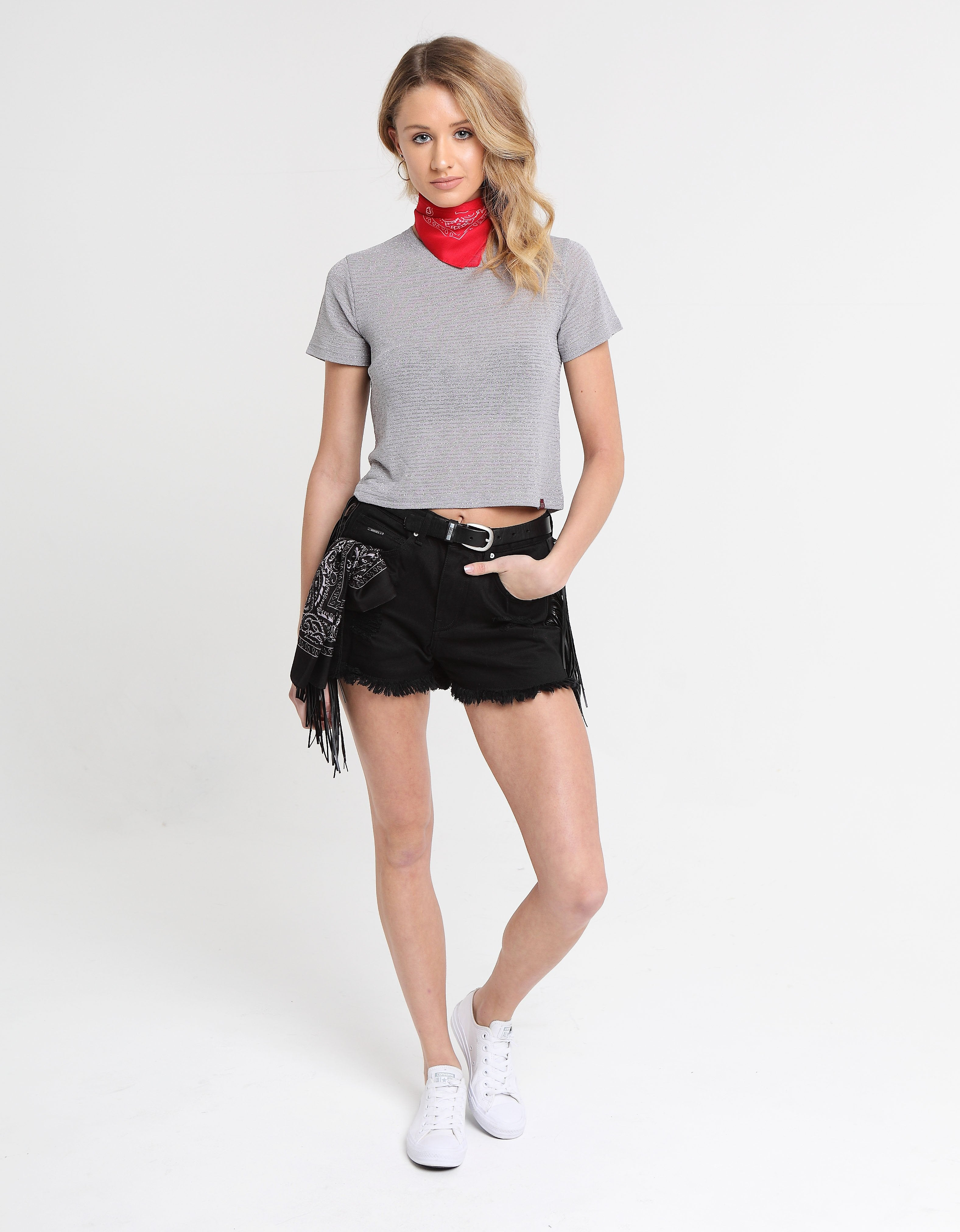 PENELOPE TOP ALLOY GREY